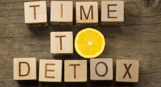 Headerbild Detox Zitrone