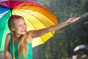 Ratschläge bei Pollenallergie - Spazieren & Lüften nach Regenschauer oder im Regen